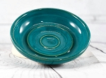 Teal Pottery Soap Dish