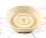 Off White Pottery Soap Dish