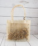 Burlap: Small with Handles Gift Bag