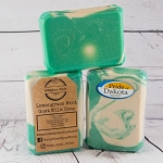 Lemongrass Mint Goat Milk Soap