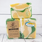 Green & Yellow #2 Goat Milk Soap