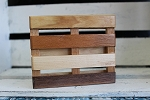 Multi Wood Pallet Soap Dish