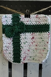 Handcrafted Washcloth - Christmas