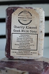 Cherry Almond Goat Milk Soap