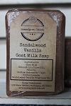 Sandalwood Vanilla Goat Milk Soap