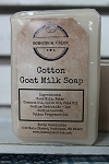 Cotton Goat Milk Soap