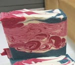 Frosted Cranberry Goat Milk Soap