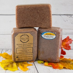 SALE - Spiced Apple Cider Goat Milk Soap