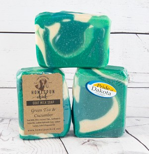 Green Tea & Cucumber Goat Milk Soap