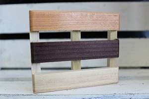 Multi Wood Modified Pallet Soap Dish