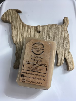 Original Goat Milk Shampoo Bar Soap