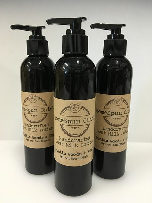 Rustic Woods & Rum Goat Milk Lotion