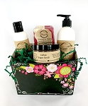 Everyday: Black with Pink Flowers Gift Box Set
