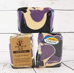 Purple & Black Goat Milk Soap