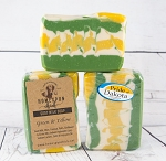 Green & Yellow #1 Goat Milk Soap