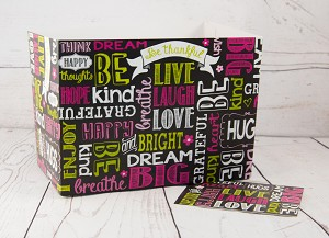 Black with Encouraging Words Gift Box Set