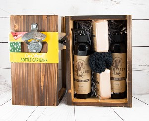 Wooden Bottle Cap Gift Box