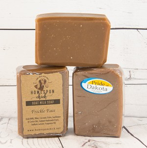 Freckle Face Goat Milk Soap